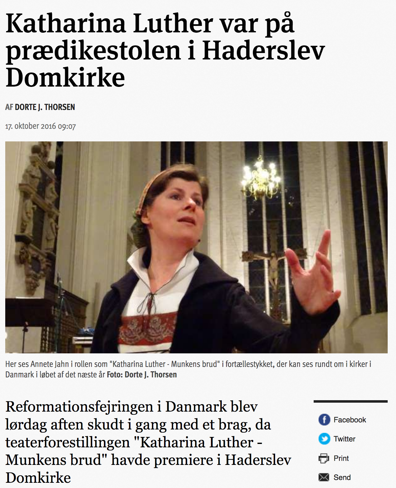 Anmeldelse fra Kristligt Dagblad